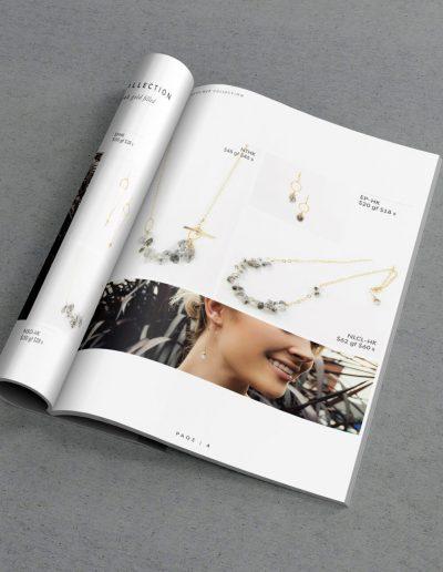 J.Mills A5 Magazine Interior Mockup