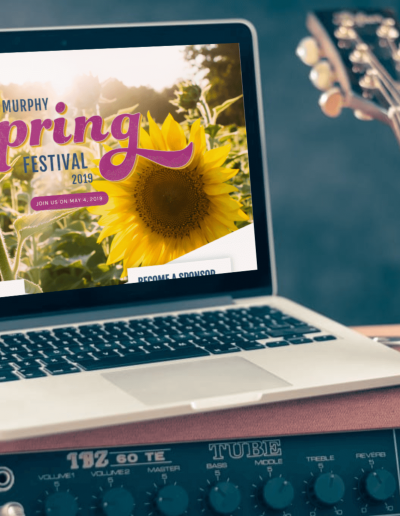 Murphy Spring Festival 2018 Laptop Mockup
