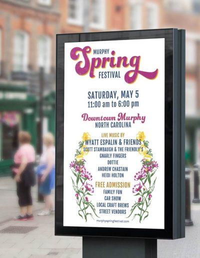 Murphy Spring Festival 2018 Poster Mockup