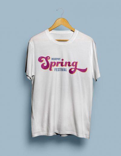 Murphy Spring Festival Tshirt Mockup