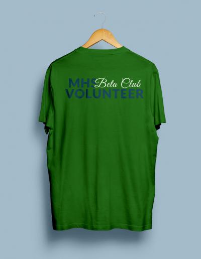 Very Murphy Christmas Beta Club Volunteer Tshirt Mockup