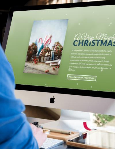 Very Murphy Christmas Desktop Mockup